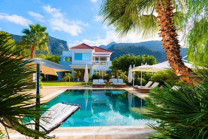 Private villa with heated pool  and a large garden - Sisi - Villa