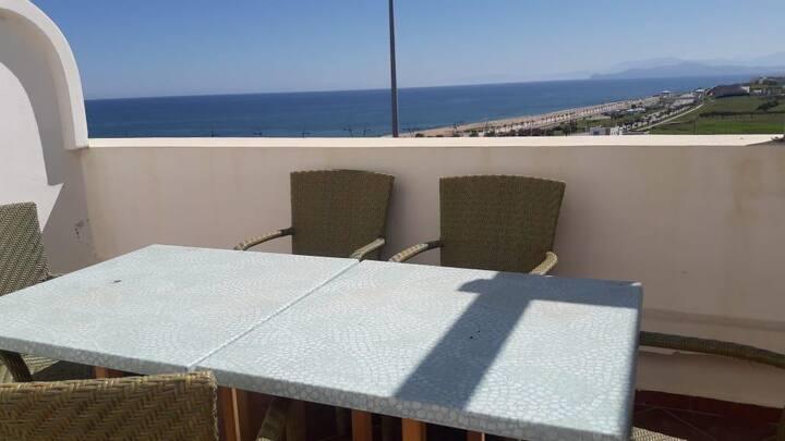 Beachfront apartment in Fnideq
