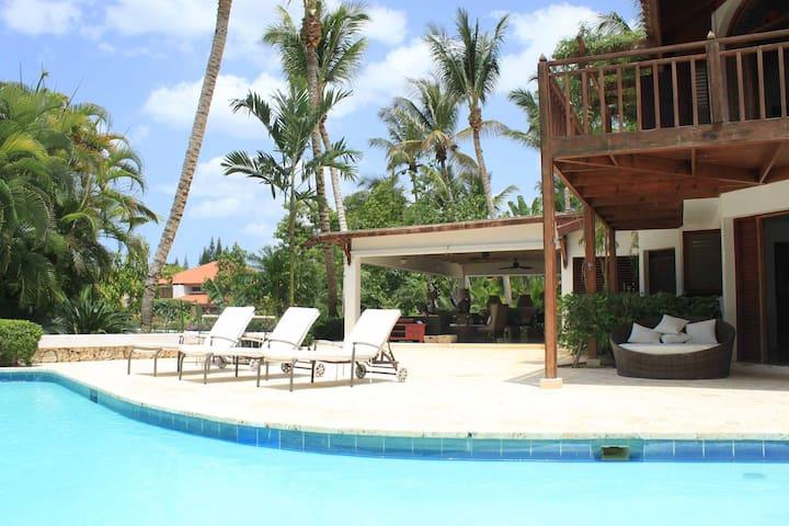 Best VILLA in Casa de Campo Resort¡¡ - La Romana - Huis