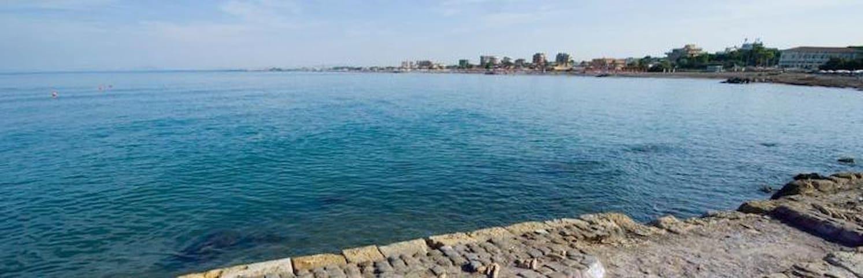 lo spiffero sul mare etrusco (porta bene bagnarsi) - Lido di Tarquinia