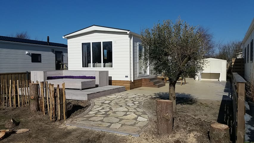 4. Beachhouse, 1km Sea, Swim.pool, nature, Camping - Petten - Chalet