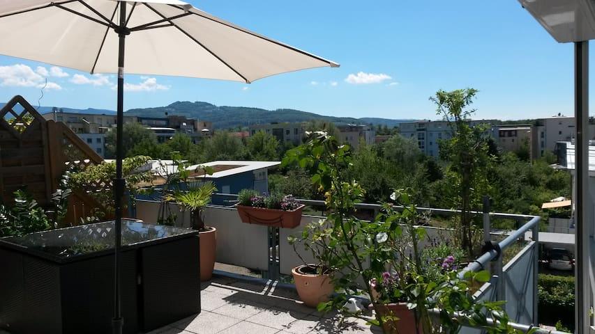 Penthouse-Traum im grünen Stadtteil Rieselfeld