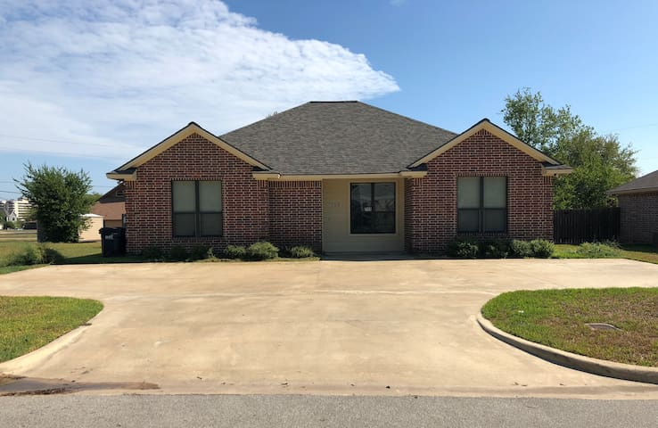 Convenient location and close to Texas A&M campus.