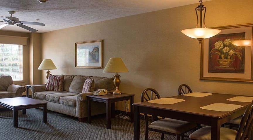 One Bedroom at Split Rock Resort