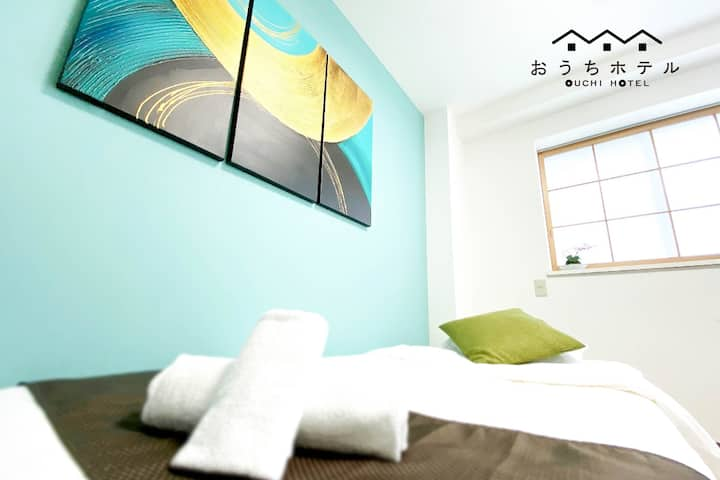 C22 Easy access to dwtwn and Peace Park!Free WiFi!