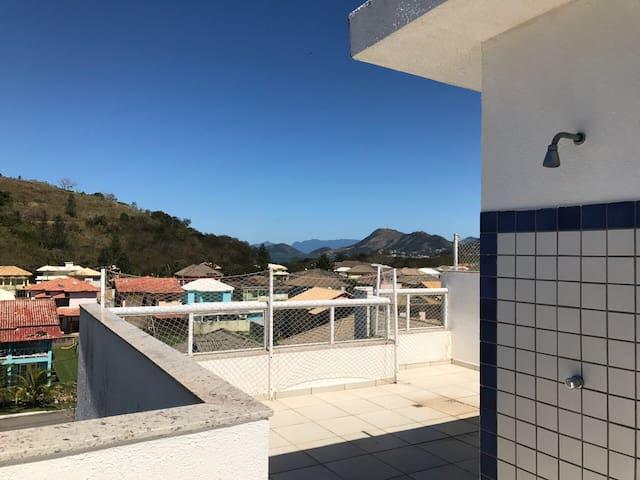 Cobertura linda vista  Condomínio Reserva do Sahy