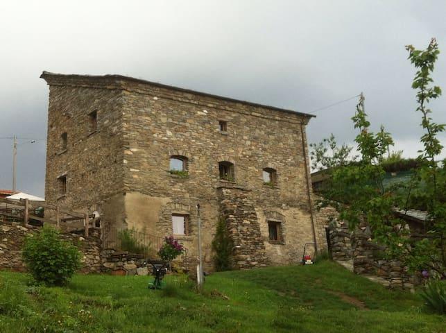 Accogliente casa in agriturismo - aymavilles - House
