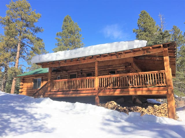 Beautiful Log Cabin On 4 Mtn Acres Close To All!