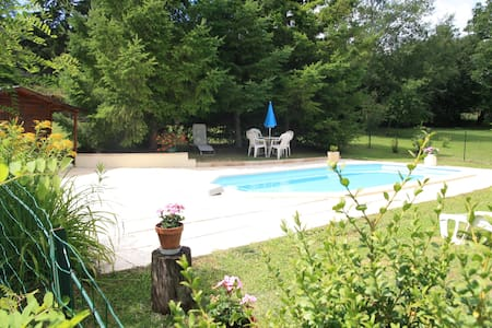 Ancienne Grange avec piscine - Saint-Germain-du-Bel-Air - Annat