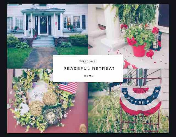 Peaceful Retreat ❤️Small Town Charm