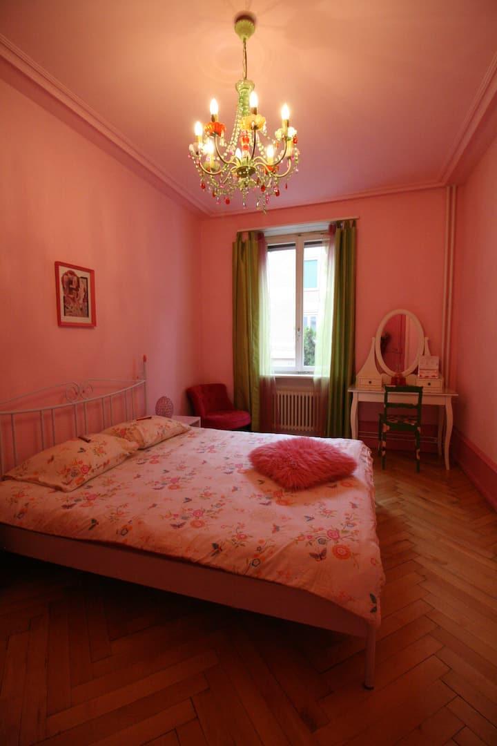 Pink & romantic