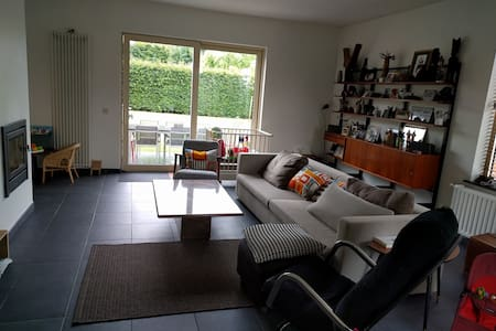 Sunny holiday house with garden near Ghent - De Pinte