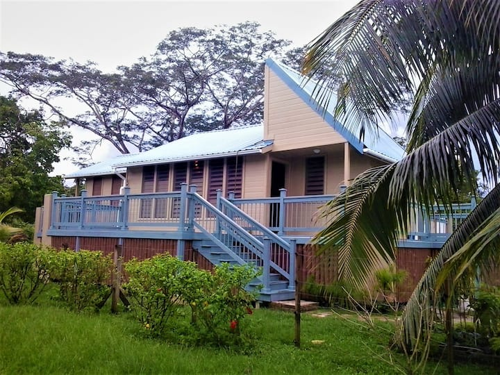 A home in the Community Baboon Sanctuary, Belize