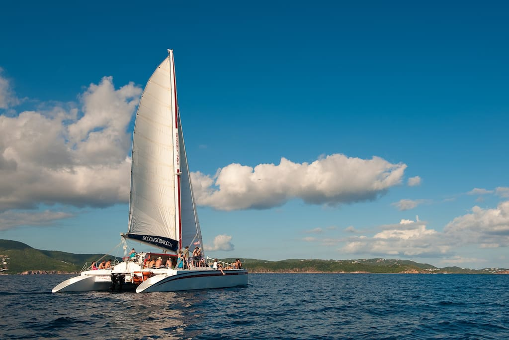 Heavenly Days catamaran sailing excursions