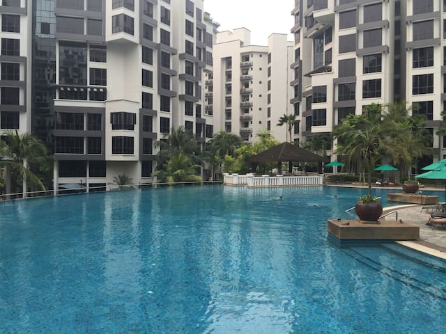 Double Room in beautiful condo - Singapore - Huoneisto