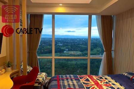 Golf View Apartment @UResidence Supermall Karawaci - Kelapa Dua - Apartament