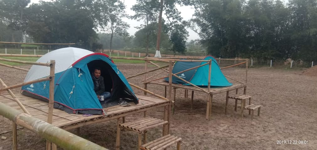 DT1 Kodom Bari Retreat, Kaziranga (Happy Camping)