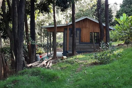 Tiny Cozy Cottage in Forest in Kihingo Cottages