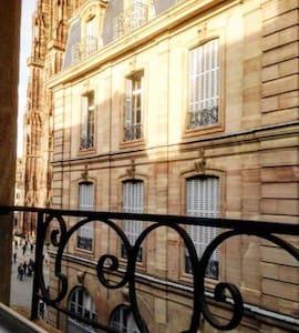 Appartement face Cathédrale - Hyper centre - Strasbourg