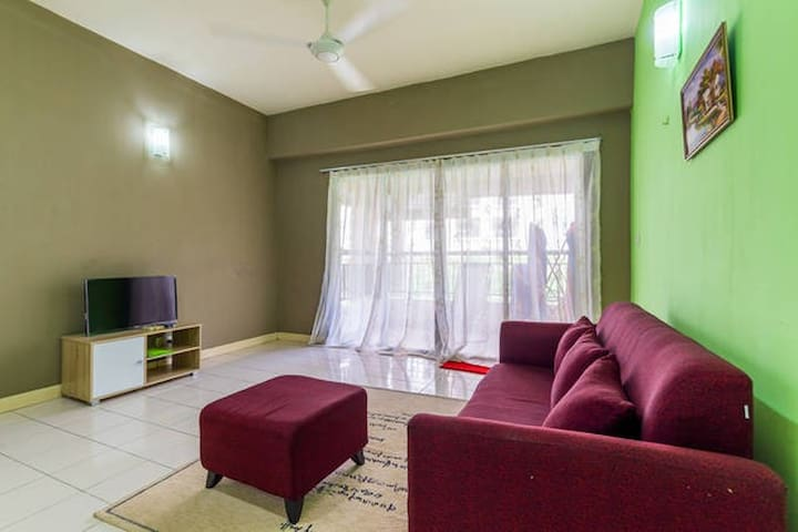 Zen and Cozy Home@Seri Maya - Kuala Lumpur - Lyxvåning