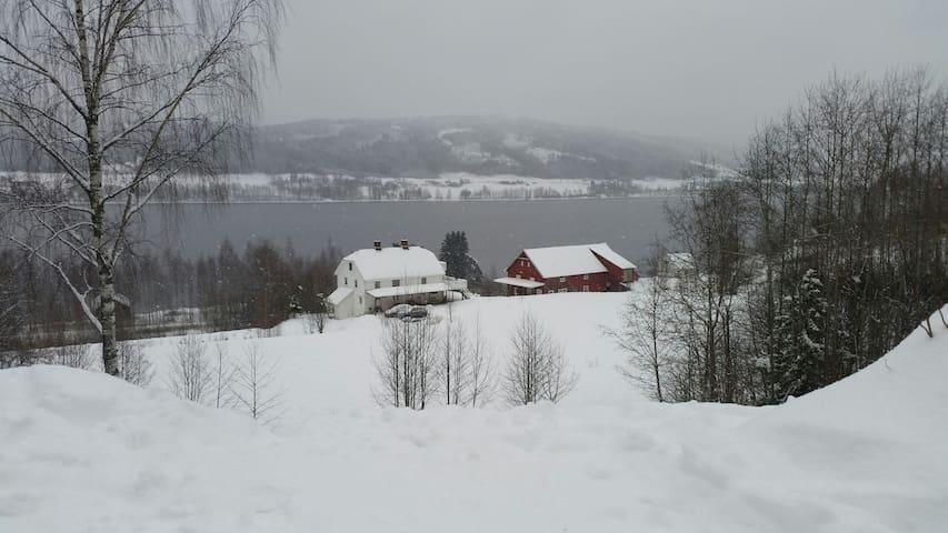 Lovely norwegian countryside - hov - Talo