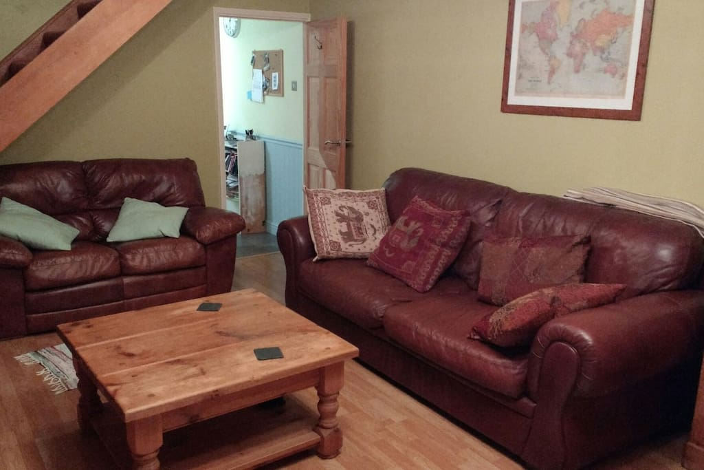 Nice comfy big sofas