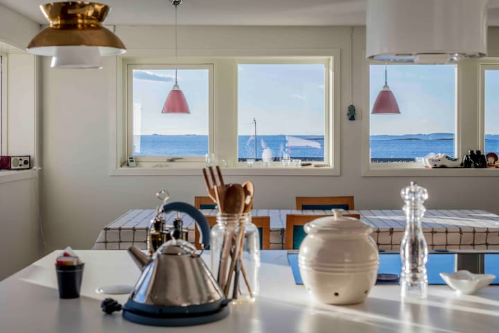 Spacious & top modern apt Ørland, Brekstad, Garten