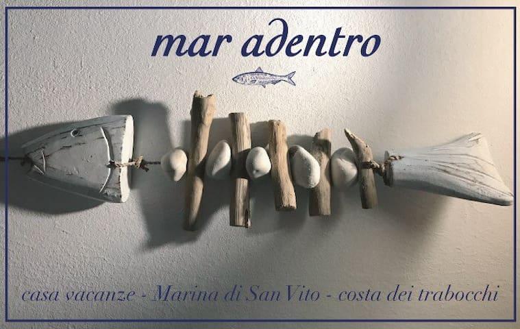 La tua vacanza in riva al mare - Marina di San Vito - Lakás