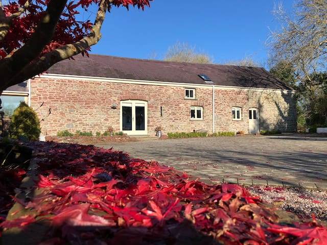 Outstanding Character Barn B&B near Carmarthen