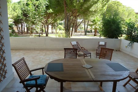 63m2 2 bedrooms swimming pool, 200m from the beach - Calvi - Wohnung
