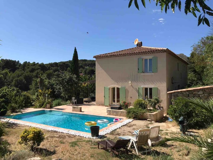 Villa avec piscine au calme Marseille 13011