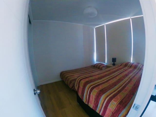 Segunda pieza cuenta con 2 camas