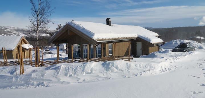 Beitostølen /Raudalen, helt ny hytte med utvask !
