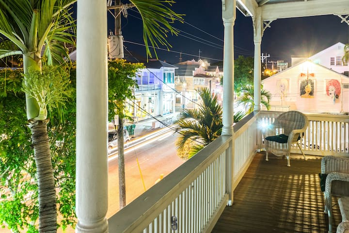Duval Street Duplex w/ Balcony and Parking