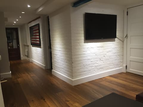Brand new english basement in D.C.