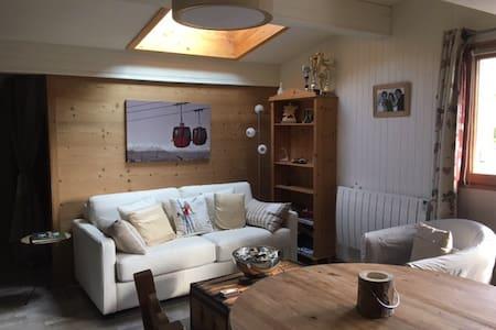 A LOUER GRAND STUDIO 40 M2 CENTRE VILLE - Les Gets - Lägenhet