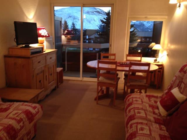 studio cabine 3* à l'alpe d'huez - Huez - Byt