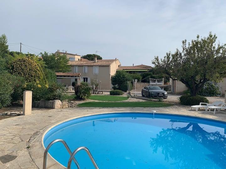 Villa bord de mer climatisée avec piscine privée