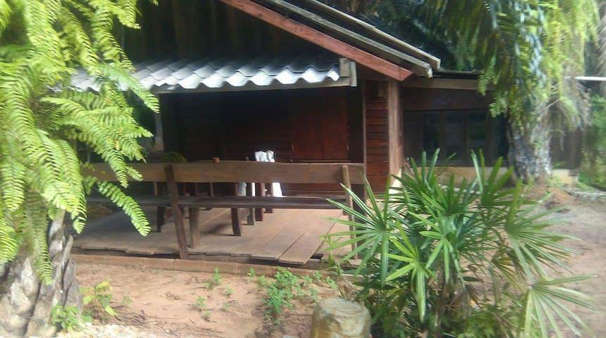 Long beach teak villa