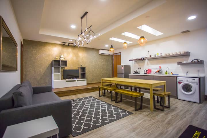 STAR RESIDENCE@星寓. KK City Centre,4BR, 4 Bath,Wifi