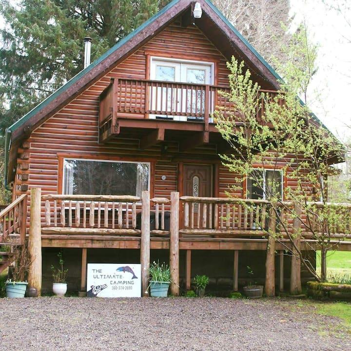 Wolf den cabin
