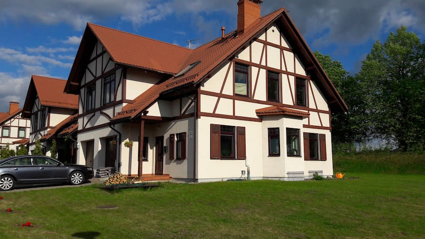 Entire house / best neighborhood - Sigulda