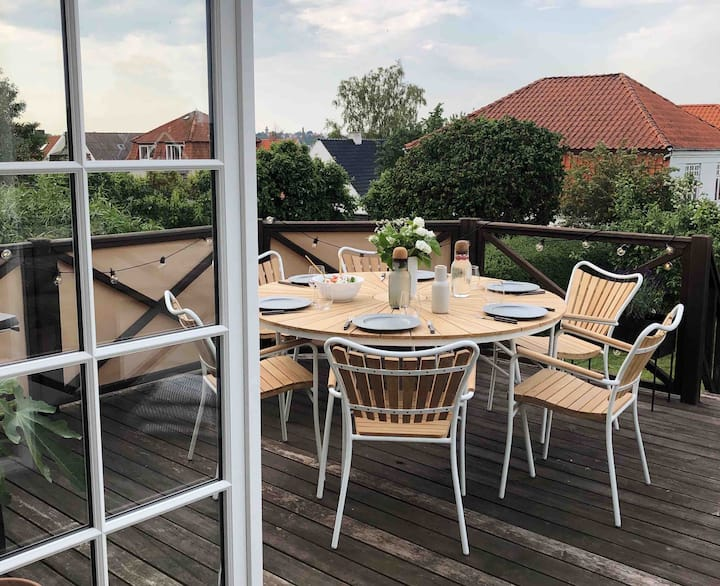 Charming villa with view in the heart of Kolding