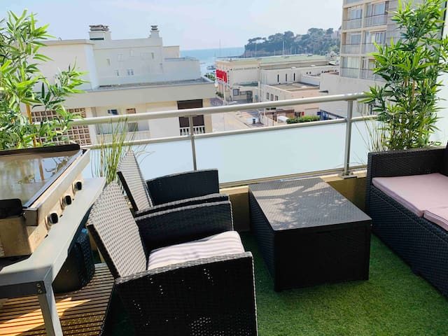 Nouveau Rare appartement 100m du port vue sur mer
