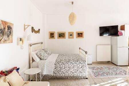 Γήινο, ρομαντικό studio, στο Μαρούσι