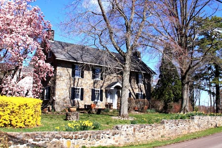 Charming Room in Stone Farmhouse - Perkasie - Rumah
