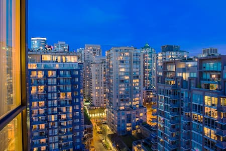 Cozy unit with nice view of city + Parking - Vancouver