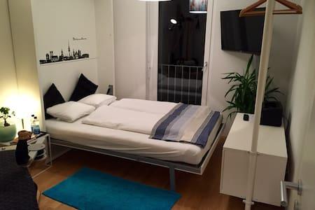 Ruhig, sauber, nettes Zimmer in MUC OST - 慕尼黑 - 公寓