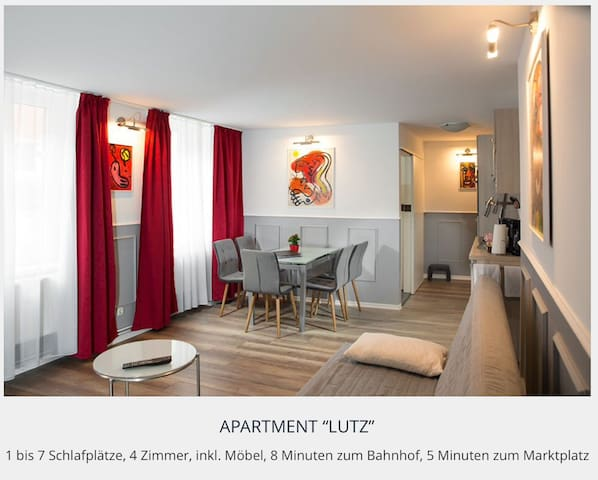 "4-Zi. Apartment ""Nr.13-Lutz"" im Zentrum - Greifswald - Apartment"