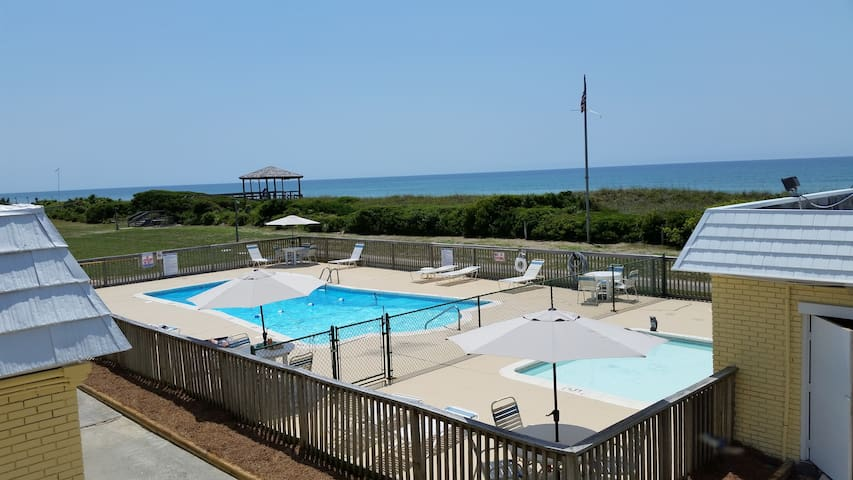 OCEANSIDE CONDO located ONLY 50 Steps to Beach!